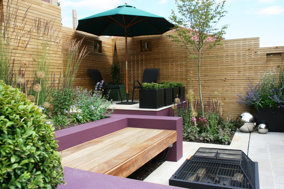 relax in a modern garden the perfect outdoor room